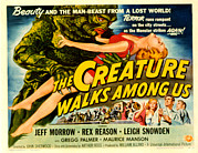 1956 Movies Posters - Creature Walks Among Us, The, Leigh Poster by Everett
