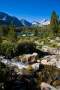 Mammoth Lakes Art - Creek at Heart Lake by Chris Brannen