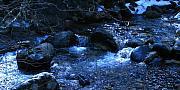 Robert Bissett - Creek in Moon Light