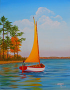 Hugh Harris - Creek Sailing