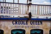 Steamboat Digital Art Prints - Creole Queen Print by Bill Cannon