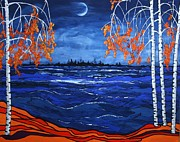 Kathy Peltomaa Lewis - Crescent Moon