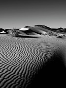 Contemporary Western Fine Art Framed Prints - Crescentic Sand Dunes Framed Print by Jeffrey Campbell