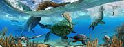 Julius Csotonyi - Cretaceous Marine Scene