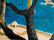Crete Painting Originals - Crete Island by Julia Collard