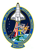 Patch Posters - Crew Patch For Sts-116 Shuttle Mission Poster by NASA / Science Source
