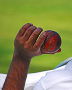 Hands Photo Metal Prints - Cricket Anyone Metal Print by Lisa  Phillips