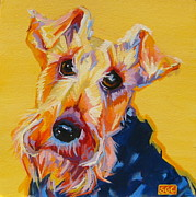 Custom Pet Paintings - Cricket by Sarah Gayle Carter
