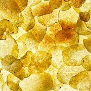 Crisp Prints - Crisps Print by Mark Sykes