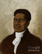 Negro Framed Prints - Crispus Attucks, African-american War Framed Print by Science Source