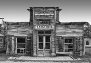 Ghost Town Photo Posters - Criterion Hall Saloon -- Montana Territories Poster by Daniel Hagerman