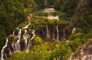 Plitvice Lakes National Park Posters - Croatian beauty Poster by Ivan Prebeg