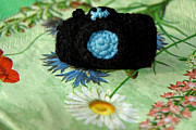 Hand Made Art - Crochet Camera Color by LeeAnn McLaneGoetz McLaneGoetzStudioLLCcom