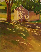 Shed Paintings - Cromwell Shed by Mary McInnis