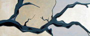 Branch Painting Originals - Crooked by Slade Roberts