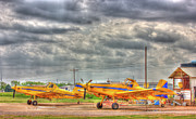 Crop Duster 003 Print by Barry Jones