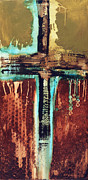 Cross Mixed Media - Cross Art 110612 by Michel  Keck