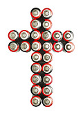 Cross Batteries 2 Print by John Brueske
