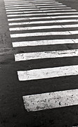 Film Photography Prints - Cross walk Print by Gabriela Insuratelu