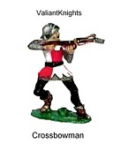 French Photo Originals - Crossbowman by Valiant Knight
