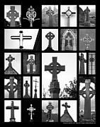 Crosses Of Ireland Print by Abby Baird