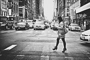 Crosswalk Photos - Crossing by Chris Gachot