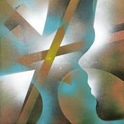 Crossing Of Minds Print by Hakon Soreide