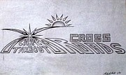 Flyers Drawings - Crossroads by Rick Hill
