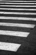 Crosswalk Photo Metal Prints - Crosswalk Metal Print by Gabriela Insuratelu