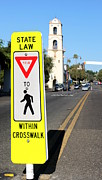 Crosswalk Framed Prints - Crosswalk Framed Print by Henrik Lehnerer