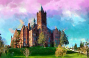 Syracuse Framed Prints - Crouse College Framed Print by Anthony Caruso