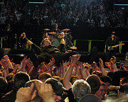 Springsteen Framed Prints - Crowd Surfin USA Framed Print by Jeff Ross