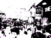 Urban Landscape Art Prints - Crowds of Hong Kong Print by Funkpix Photo  Hunter