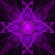 Sahasrara Prints - Crown Chakra Print by Gloria Gypsy