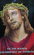 Animal Themes Painting Prints - Crown of Christ Print by Unique Consignment