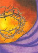 Salvation Mixed Media - Crown of Thorns by Michelle Young