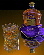 Advertising Photographer Atlanta Framed Prints - Crown Royal on Ice Framed Print by Corky Willis Atlanta Photography