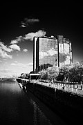 Crowne Plaza Photo Acrylic Prints - crowne plaza hotel finnieston Glasgow Scotland UK Acrylic Print by Joe Fox