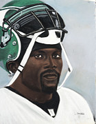 Sports Art Pastels Originals - Crowning Helmet by L Cooper