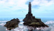 Lighthouse Digital Art - Crows Nest Lighthouse by Mark Weller