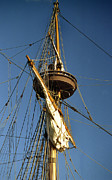 Sailing Vessel Photos - Crows Nest by Skip Willits