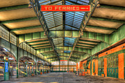 Concourse Photo Framed Prints - CRRNJ Terminal I Framed Print by Clarence Holmes