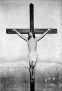 Folk Art Photos - Crucifix, San Xavier Del Bac Mission by Everett