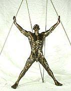 Anatomy Sculptures - Crucifixion by EmmA Sculptor