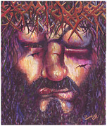 Sacrificial Painting Posters - Crucifixion. Master Fully Done Poster by Jean-Marie Poisson