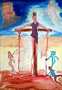 Watcher Originals - Crucifixion of Jesus by Stanley Morganstein