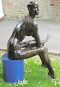 Drum Sculptures - Crude Nude by Robin Beuscher