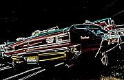 Chevelle Digital Art Prints - Cruise Night Print by DJ Florek