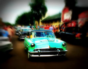 Paint Photograph Prints - Cruise Night Print by Perry Webster