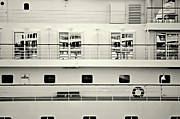Boat Cruise Photo Prints - Cruise Reflections Print by Dean Harte